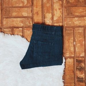 • Mossimo Supply Co. • blue jean shorts